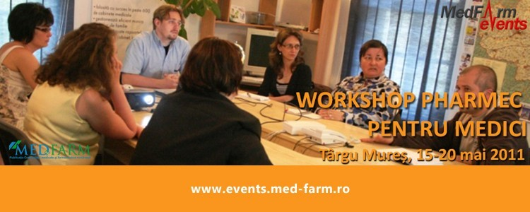 Workshop Pharmec pentru medici la Targu Mures